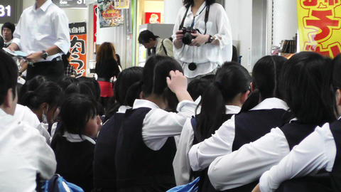 Okinawa Naha Airport Terminal 10 waiting Stock Video Footage