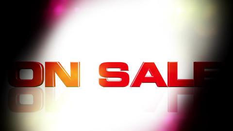 On Sale 01 Stock Video Footage
