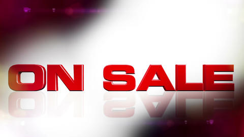 On Sale 01 Stock Video Footage