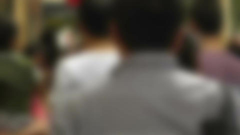 Pedestrians Blurred 60fps native slowmotion 03 Footage