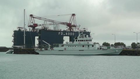 Port in Ishigaki Okinawa 05 Stock Video Footage
