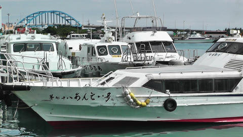 Port in Ishigaki Okinawa 21 Footage