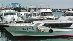 Port in Ishigaki Okinawa 21 Stock Video Footage
