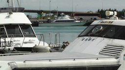 Port in Ishigaki Okinawa 23 Stock Video Footage