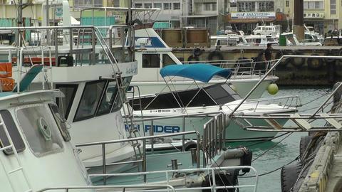 Port in Ishigaki Okinawa 27 Stock Video Footage