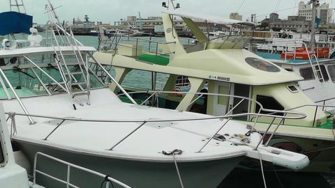 Port in Ishigaki Okinawa 29 Stock Video Footage