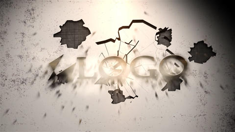 Industrial Exploding Titles After Effects Template