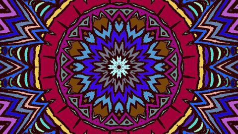 Kaleidoscope Multicolored 4K Animation