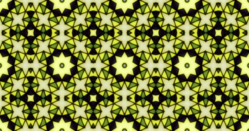 Mosaic Kaleidoscope 4K Multicolored Animation