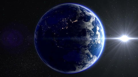 Earth B 2 Sun 2 4k Animation