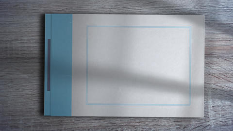 Photo Album, Stock Animation