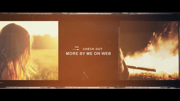 Film Stock Opener Titles / End Credits After Effects Template