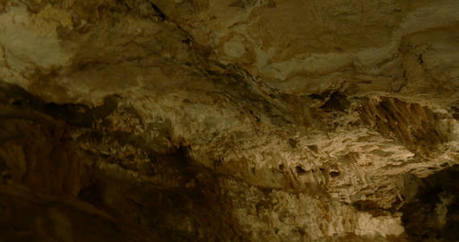 Cave Carbonate Rock 01 stock footage