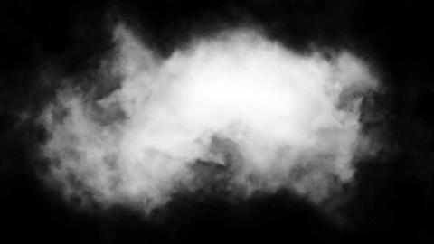 White Smoke stock footage