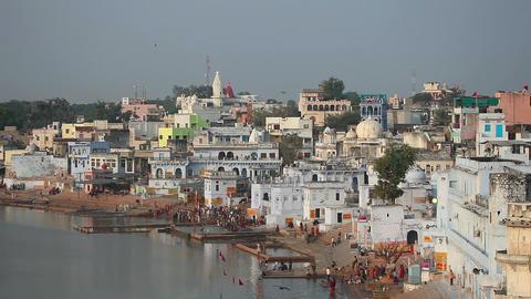 Pushkar lake Footage
