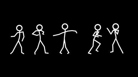 Dancing Stickmen Animation