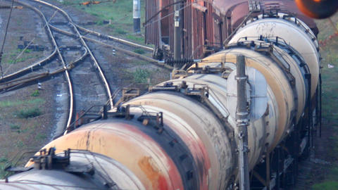 transportation of oil by rail Footage