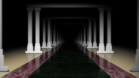 Classical Pillars Animation