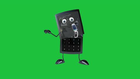 Phone Dude Calling + Looping & Matte Videos animados
