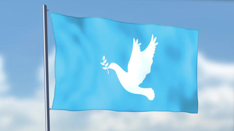Peace Flag Animation