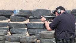 machine gun Kalashnikov Footage