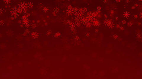 Beautiful Snowflakes - winter background Animation