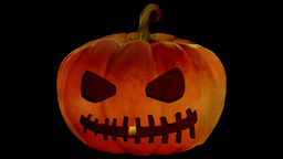 Candle In The Jack O'Lantern 3 Animation