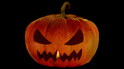 Candle In The Jack O'Lantern 2 Animation
