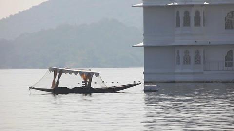Udaipur lake Footage