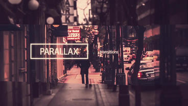 Opener Parallax After Effects Project