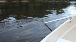 Oar rowing boat Footage