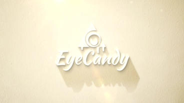 Sunny Logo Soft Shadow stock footage