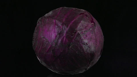Red cabbage Footage