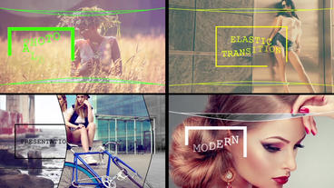 Elastic Line After Effects Template