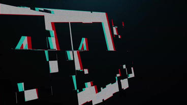 Glitch Logo Opener 2 After Effects Project