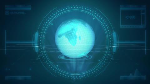 Hologram World, Stock Animation