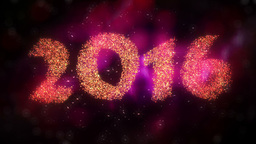 New Year 2016 Countdown Animation Animation