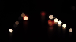 The Road From Candles And Pumpkins Translation Focus stock footage