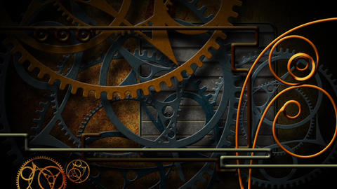 Steampunk stock footage