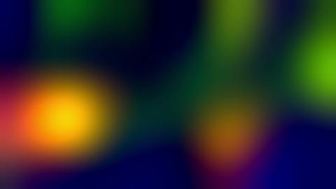 Flying Liquid Colored Beaty Lights Animation