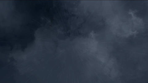 sky and rain falling Stock Video Footage