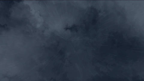 sky and rain falling Animation