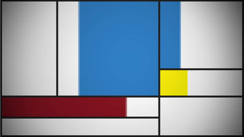 Mondrian Theme Animation