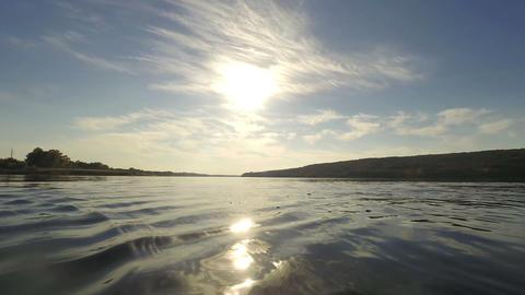 River landscape 02 Footage