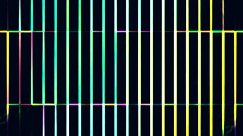 Color Grid Changing Abstract Background Animation