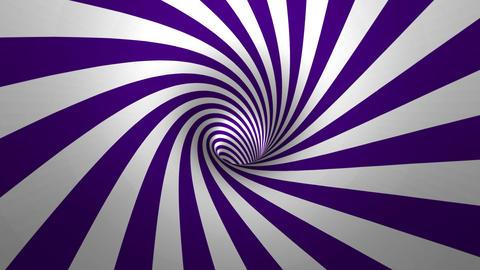Hypnotic spiral Animation