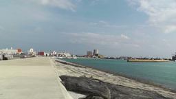 Port in Ishigaki Okinawa 41 Stock Video Footage