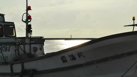 Port in Okinawa Islands 18 Stock Video Footage