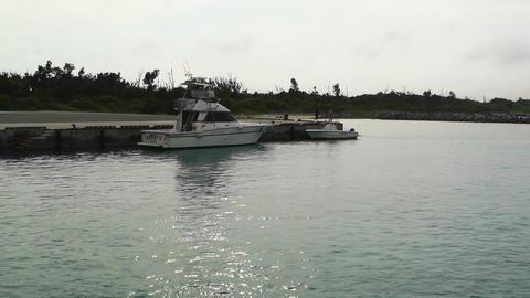 Port of Taketomi Island in Okinawa 07 Stock Video Footage