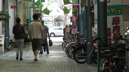 Rural Japanese Market in Okinawa Islands 08 Stock Video Footage